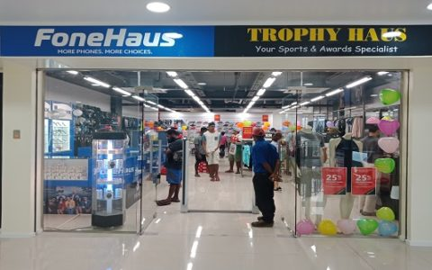Fone Haus is now Open at Papindo Shopping Center Lae