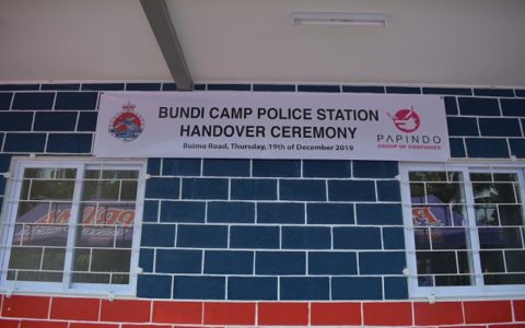 Lae Police Open New Station At Bundi Camp